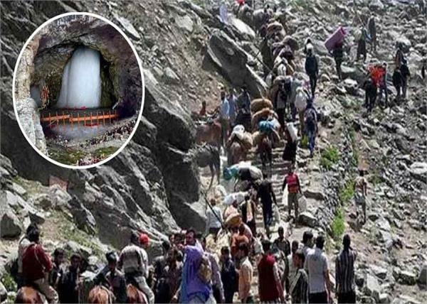 amarnath yatra 1 95 lakhs pilgrims