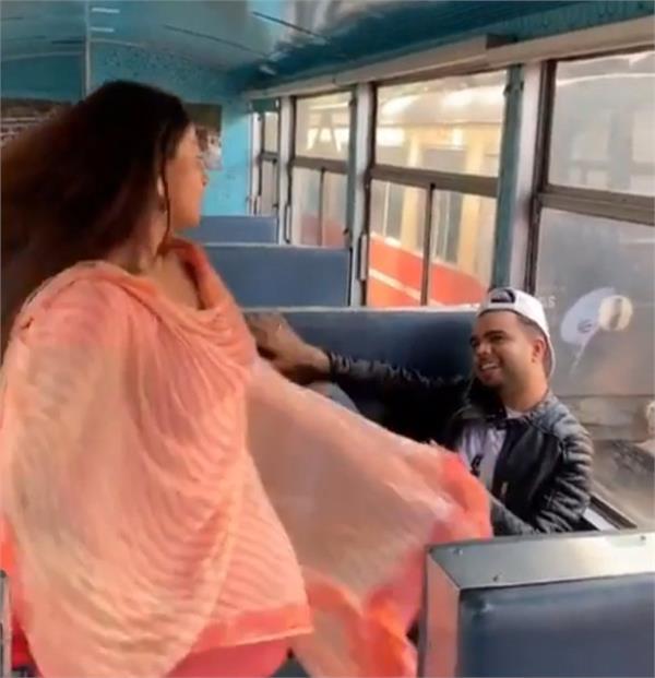 akhil and rubina bajwa tik tok video viral