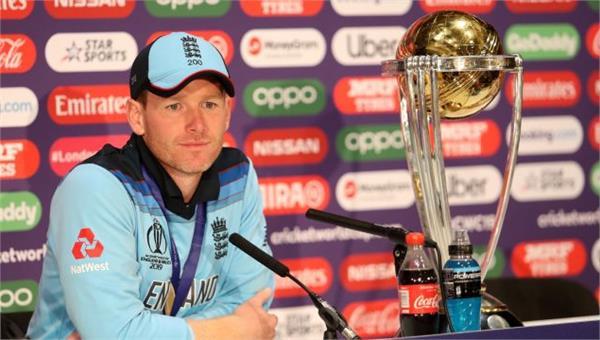world champion england capt eoin morgan says we had allah with us