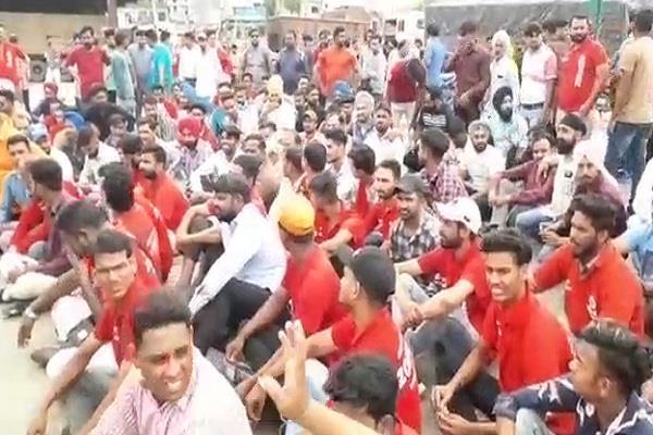 zomato employees protest