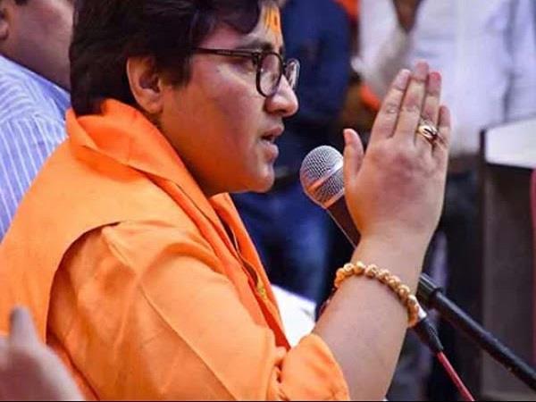 narendra modi  sadhvi pragya disputed statement