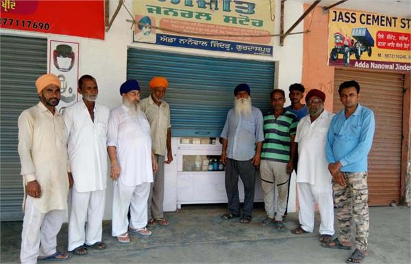 the thieves attacked the 3 gurdwaras and 3 shops