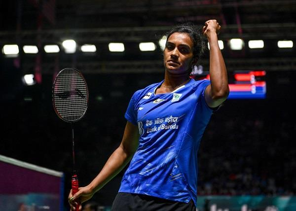with victory over okuhara  sindhu reached the semifinals