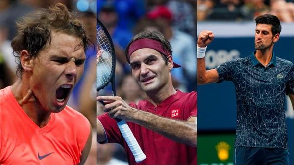 nadal  federer and djokovic will be contenders for the us open