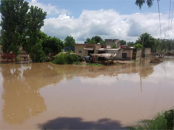 22 villages affected from water due to heavy flood