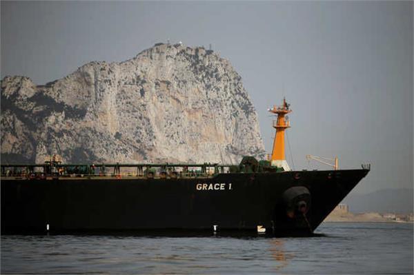 iranian oil tanker to leave gibraltar despite us pressure