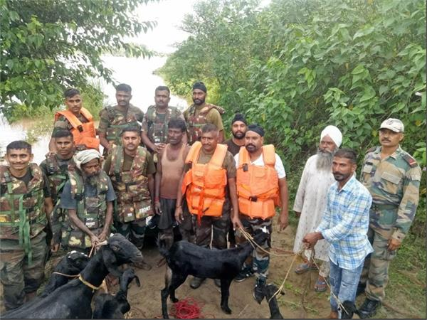 army sutlej rescue operation near nawanshahr