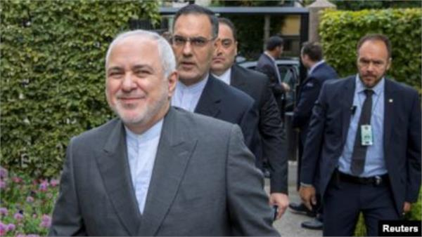 iranian foreign minister arrived at the g 7 summit to discuss the summit