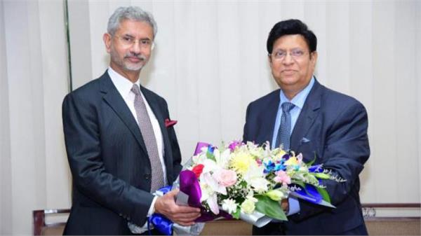 foreign minister jaishankar arrives in bangladesh