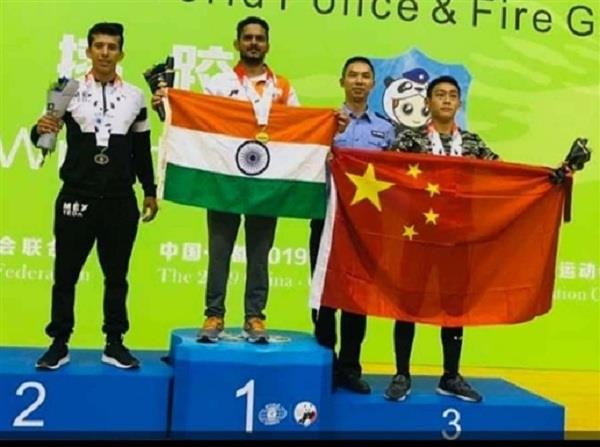 world police games  manohar singh wins gold in wrestling