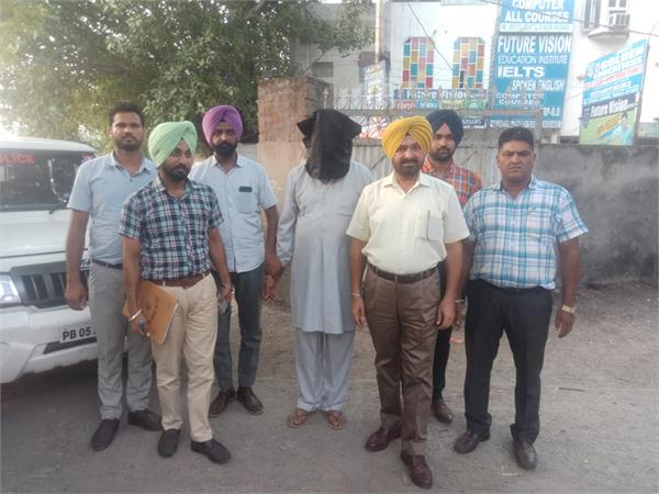 assistant inspector arrested red handed taking bribe