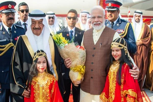 pm modi to launch renovation krishna temple bahrain