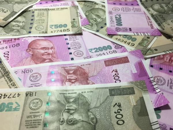 rupee had lost 8 paise