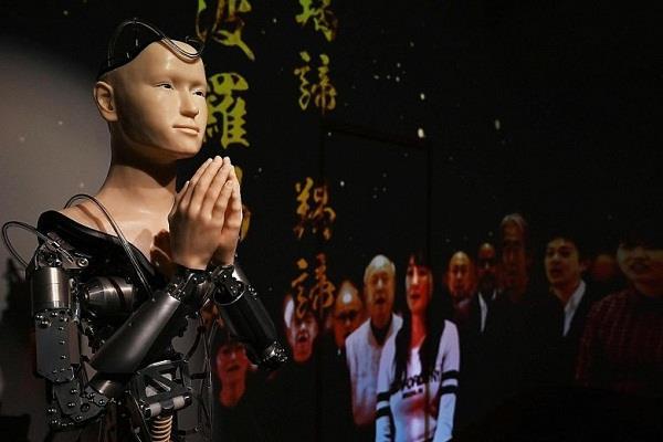 japan  robot priest