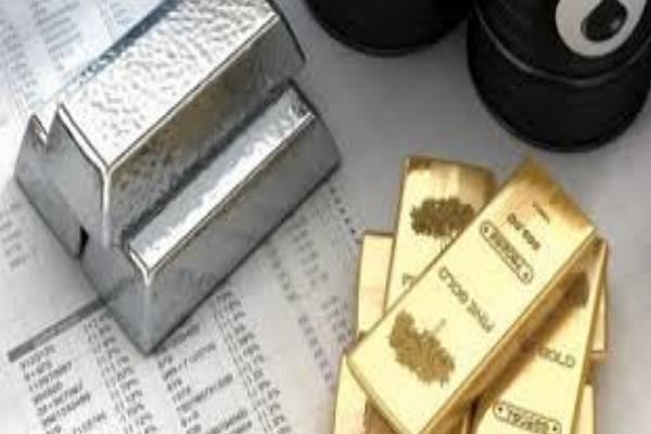 crude oil slipped  gold shone bright