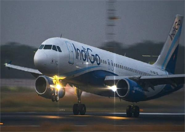 indigo flight in serious error