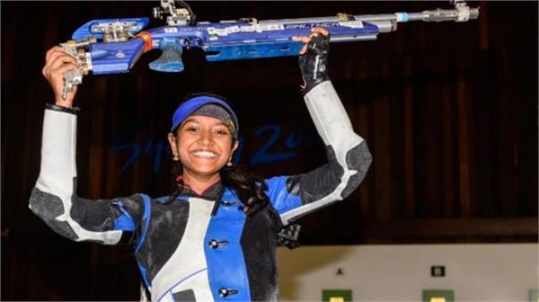 elavenil valarivan wins 10m air rifle gold in shooting world cup 2019