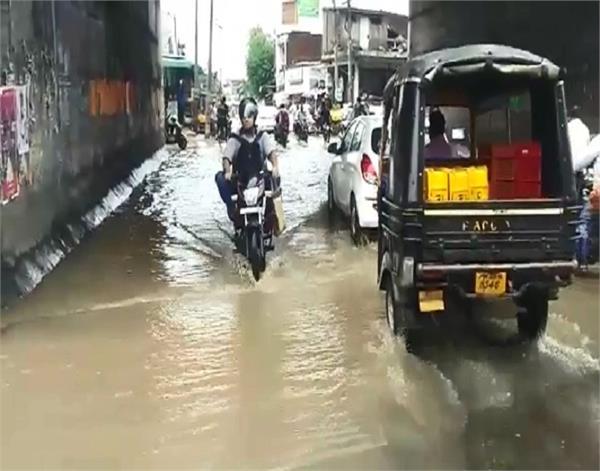 pathankot  rain  disaster