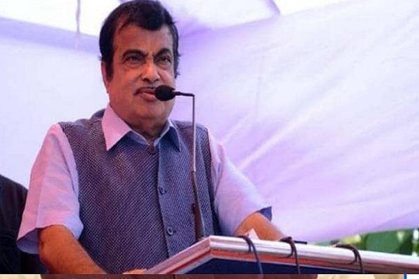 union minister nitin gadkari to officials work