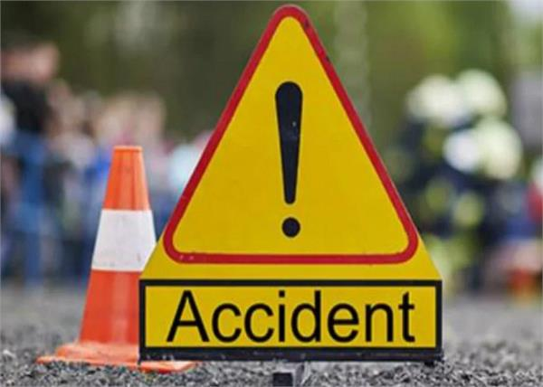 death due to road accident