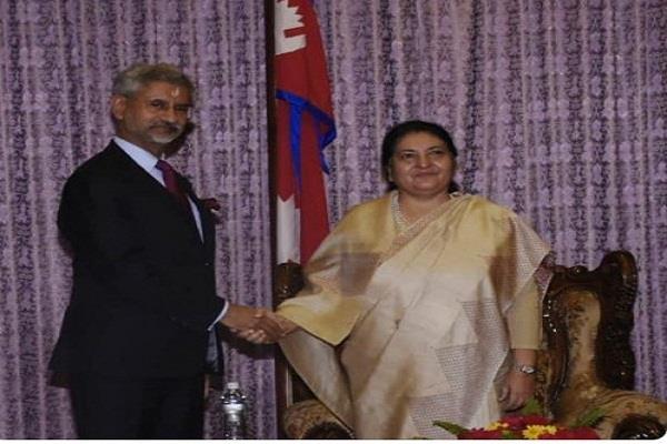 nepal  subramaniam jaishankar