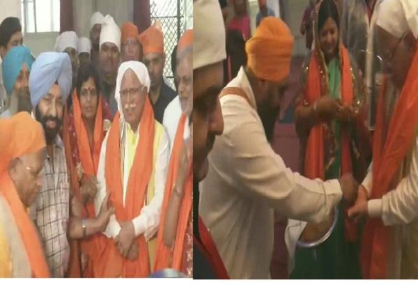 cm manohar lal begins jan aashirwad yatra