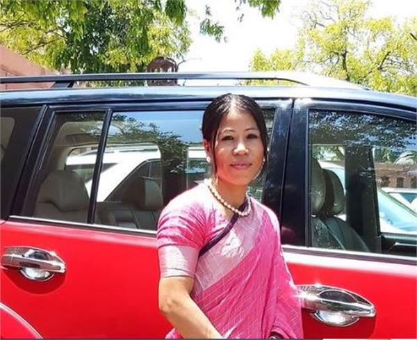 mary kom recuses herself from saturday  s sports award meeting