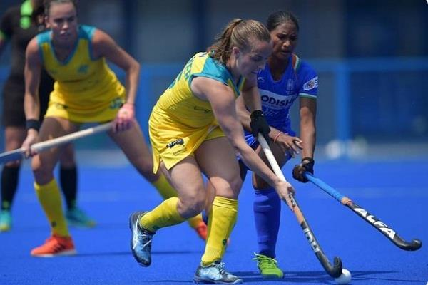 india  women hockey team  draw