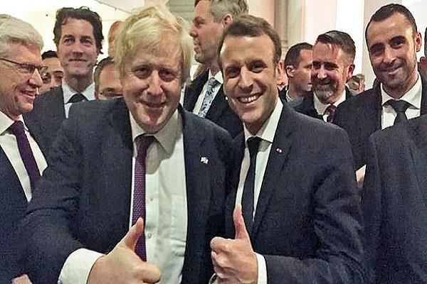 johnson and macron discuss brexit