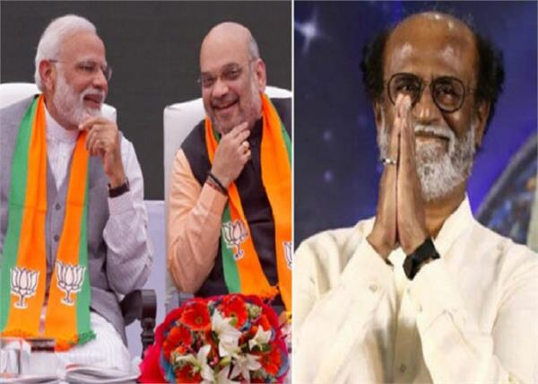 rajinikanth pm modi and amit shah