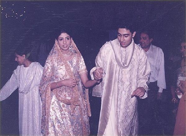 shweta bachchan nanda wedding pictures