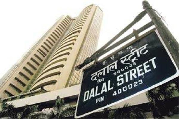 sensex down 587 points nifty closed at 10741 on red flag