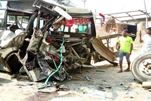sherpur  bus  truck  collision