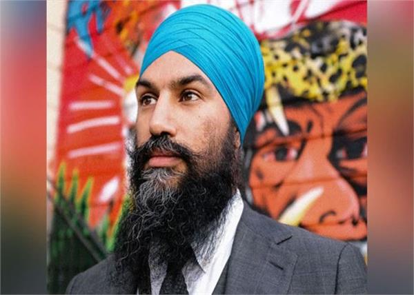 canadian sikh leader jagmeet condemns the demolition of guru ravidas temple