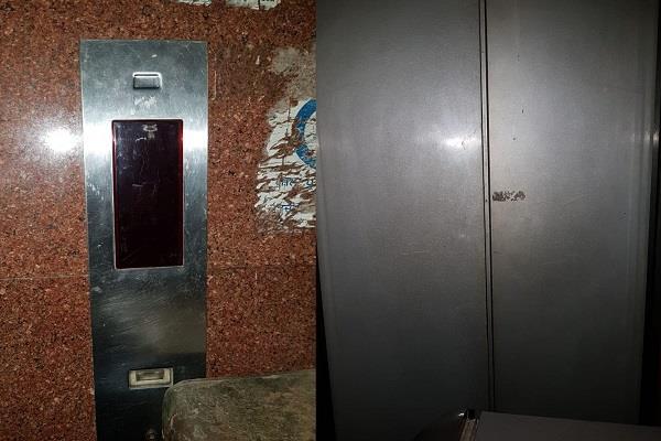 sangrur  district administrative complex  lift  closed