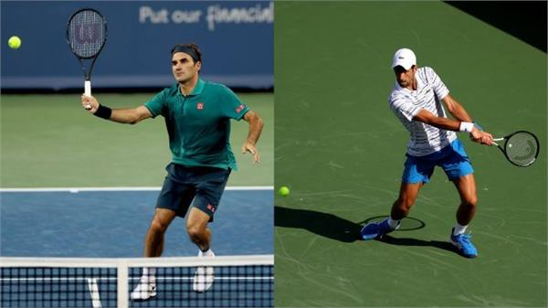 djokovic and federer in the third round at cincinnati