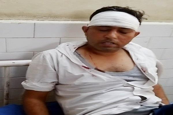 bhawanigarh  toll plaza  shift incharge  beaten