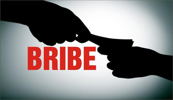 deed writer arrested in bribery accused
