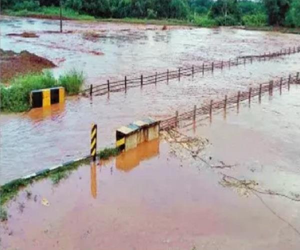 nangal  railway tracks  water