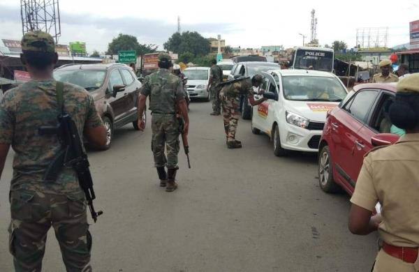 high alert in tamil nadu threatening terrorist attack