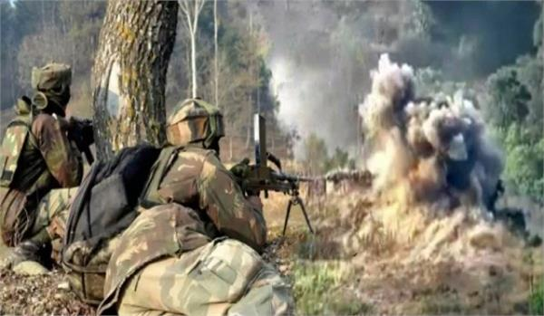 disgraceful act of pakistan in nowshera violate ceasefire