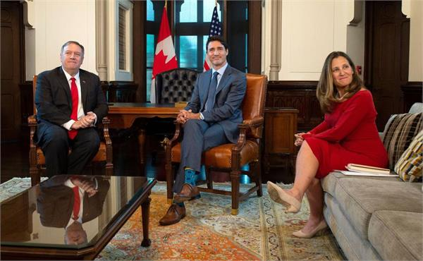 2 canadians release from china  pompeo