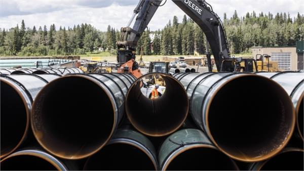 canada  40 000 liters of oil wasted due to pipeline leakage