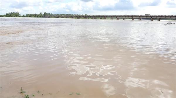 sutlej overflow at this place in jalandhar