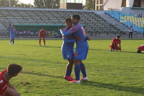 india beat bahrain 5 0