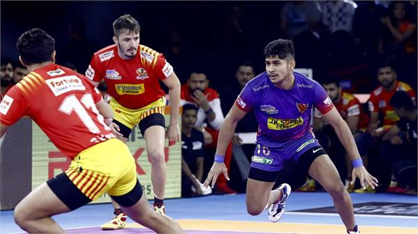 pro kabaddi league  delhi beat gujarat 34 30