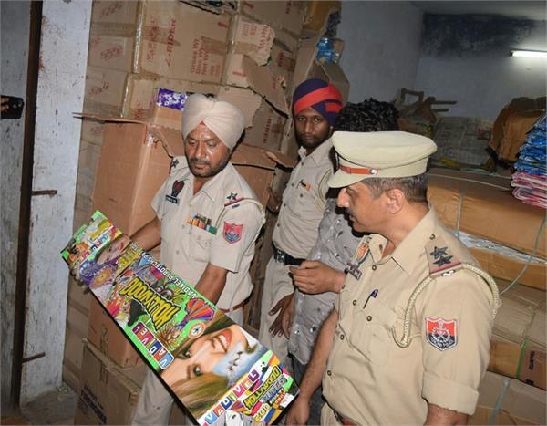 illegal fireworks  2 arrested