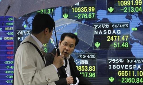 stocks in asia mixed