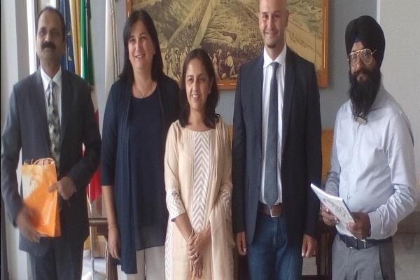 rome ambessdor indian community meeting
