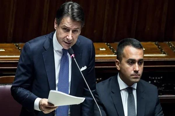 italy newly elected government wins vote